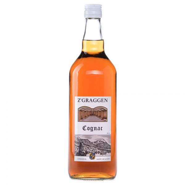 Z'GRAGGEN Cognac, 40% vol.