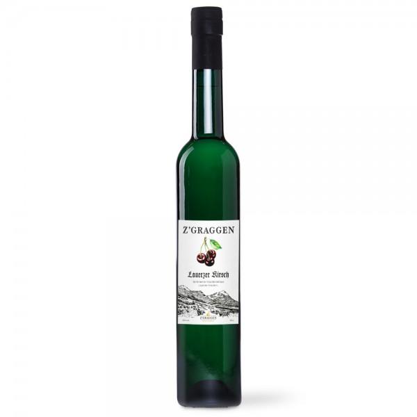 Sortenreiner Lauerzer Kirsch Geschenkflasche, 40 Vol.-%