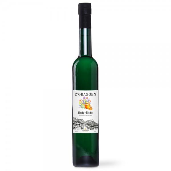 Honig-Kräuter Geschenkflasche, 30 Vol.-%