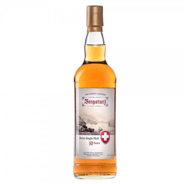 Bergsturz Single Malt Whisky 10-jährig, 40 Vol.-%