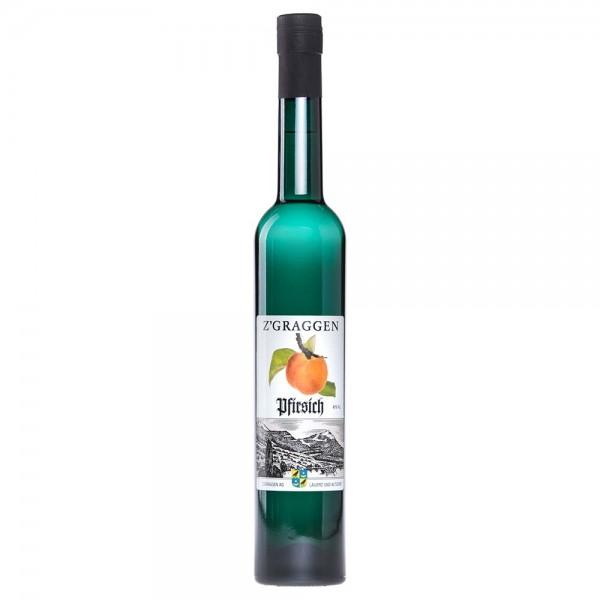 Pfirsich Geschenkflasche, 40 Vol.-%