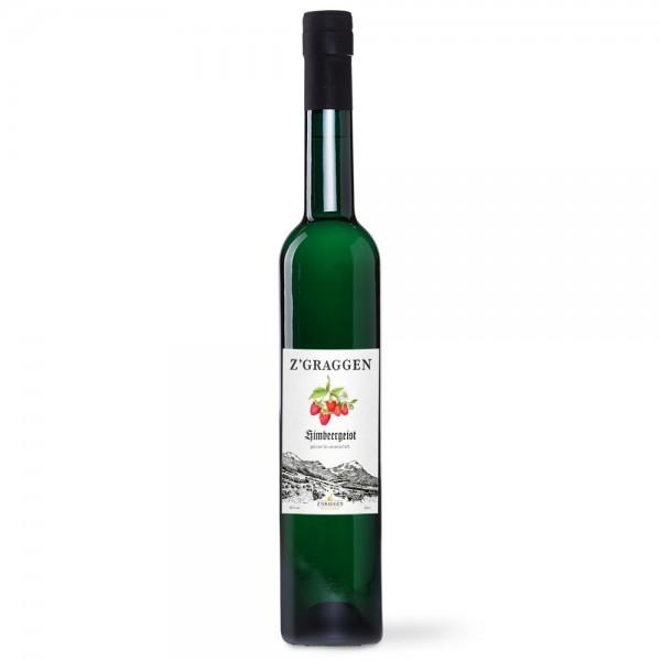 Himbeergeist Geschenkflasche, 40 Vol.-%